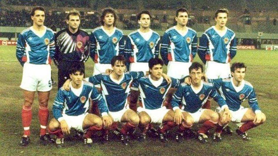 Спортски крај: СФРЈ пред точно 28 години го одигра последниот меч во Виена на кој играа Панчев и Најдовски