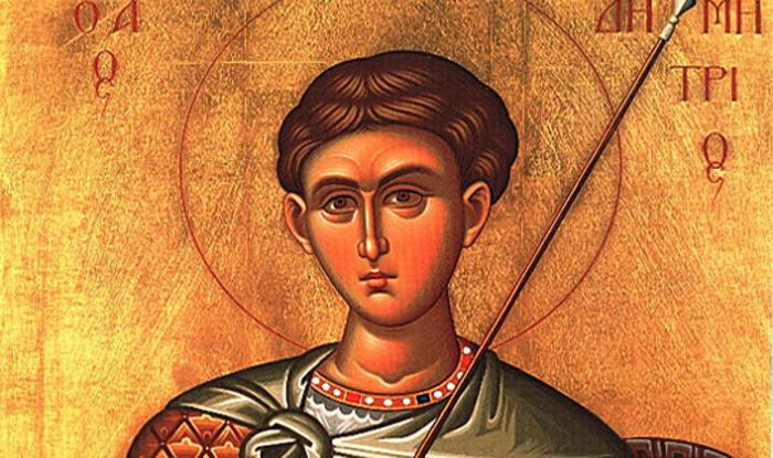 КАЛЕНДАР НА МПЦ: Денеска се слави Св. великомаченик Димитриј – Митровден