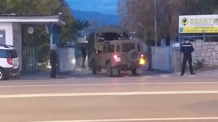 Војската влезе во ОХИС