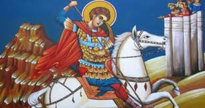 ЕСЕНСКИ СЛАВИ: Денеска го славиме св. великомаченик Георгиј Победоносец