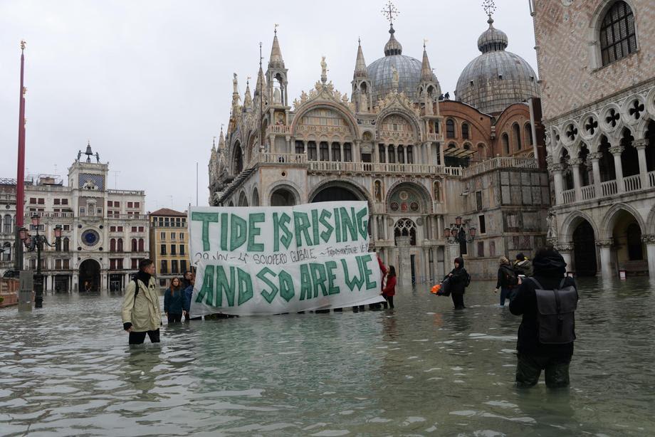 Прогласена вонредна состојба во Венеција