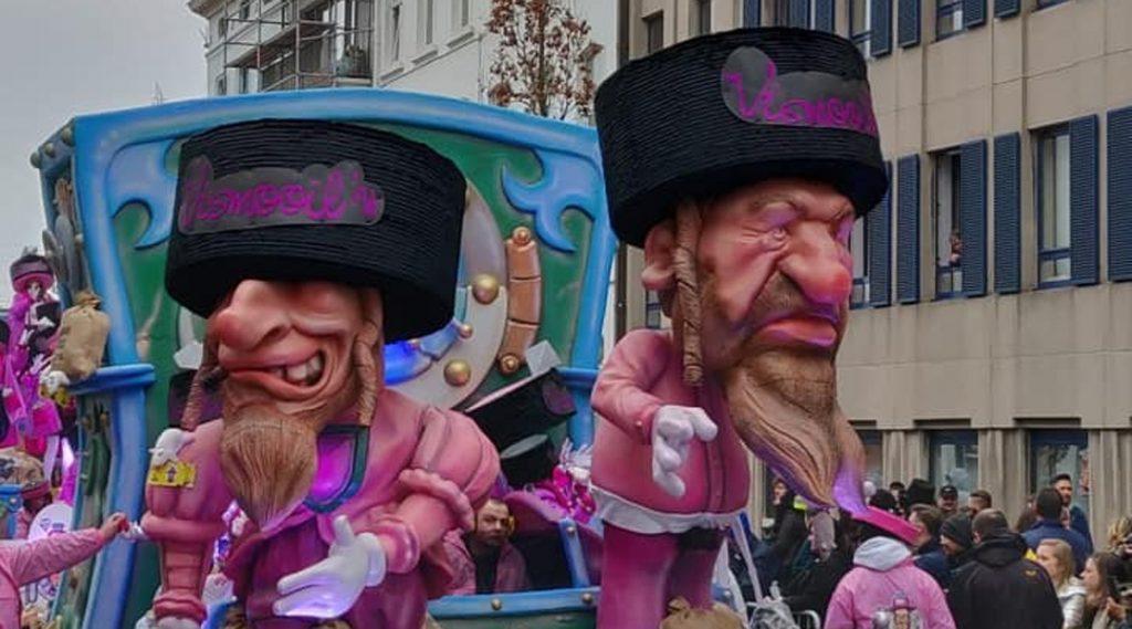 Белгиски карневал отстранет од листата на Унеско поради расизам и антисемитизам