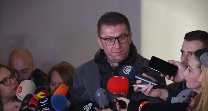МИЦКОСКИ: Добро е што ја објавија мојата преписка со Рашкоски, нека се види дека се криминалци и во вонредна состојба