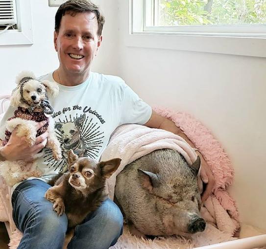 Човек со големо срце: Останал без куче, па вдомил животни кои никој не ги сакал (ФОТО)