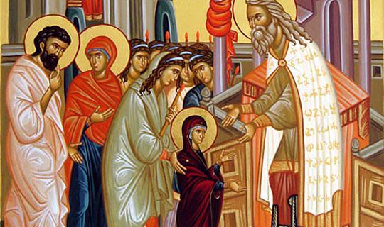 УТРЕ Е ВОВЕДЕНИЕ НА ПРЕСВЕТА БОГОРОДИЦА: Ни доаѓа Св. Пречиста, празник на младите жени