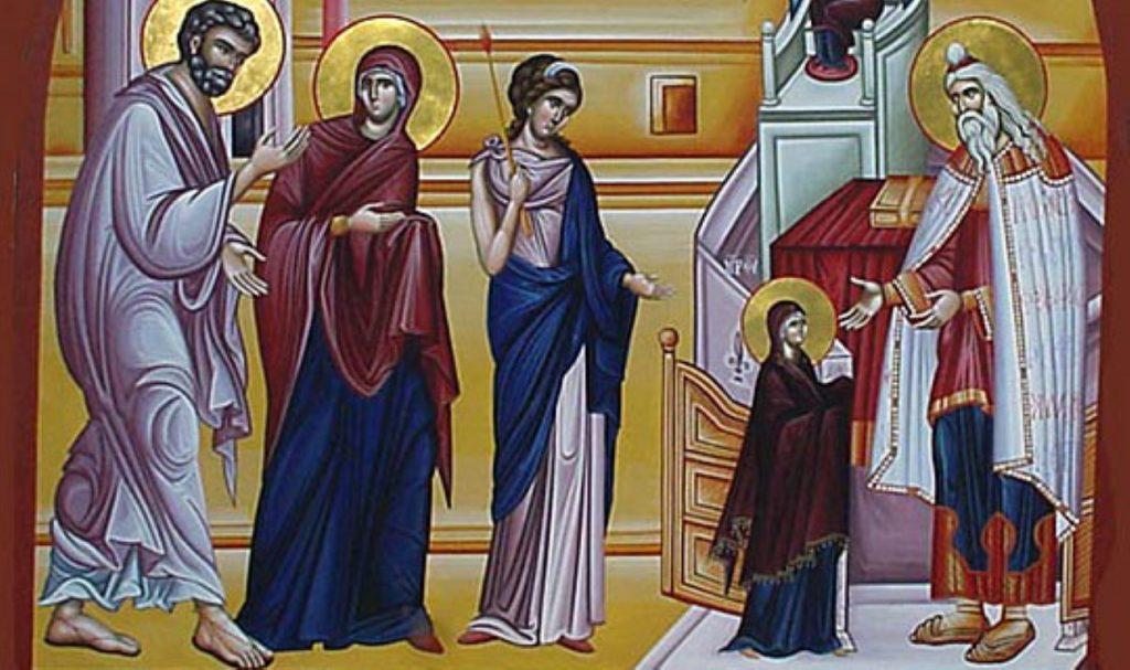 КАЛЕНДАР НА МПЦ: Денеска е Воведение на Пресвета Богородица, за многу години Пречиста
