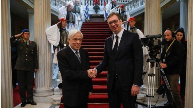 ВУЧИЌ ВО ГРЦИЈА: И Скопје сака да влезе во иницијативата за брзата пруга Атина-Белград