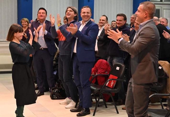 ЦАРОВСКА: Ние го нудиме Зоран Заев, тој ќе формира нова влада и ќе биде следниот премиер