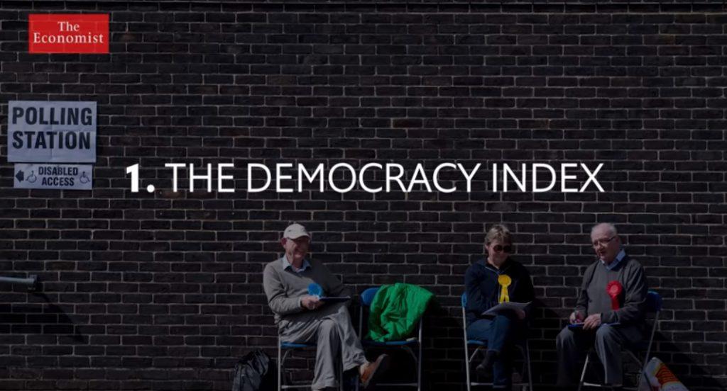 """Индекс на демократија на """"Економист"""": Македонија на 77. место во категорија """"хибридни режими"""""""