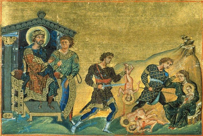 КАЛЕНДАР НА МПЦ: Денеска е Илјадници младенци, убиени од цар Ирод во Витлеем
