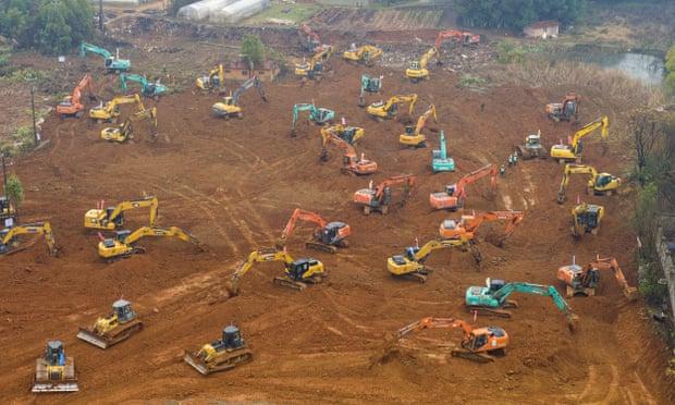 Кина: Повторно во погон машините на 89 отсто од запрените инфраструктурни проекти