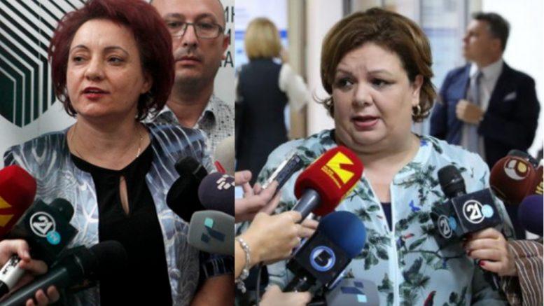 """ТИЕ ШТО СКАПО ГИ ПЛАЌА(В)МЕ: На судење за Рекет, бившите колешки Јанева и Стефанова """"се удираа"""" со долен веш и со најдолни изрази"""