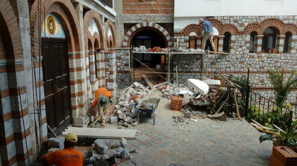 ВО МАНАСТИРОТ РАЈЧИЦА КАЈ ДЕБАР: Продолжува градителскиот потфат во Св. Георгиј Победоносец, почнат во 17 век