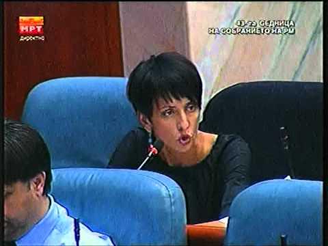 САВОВА И ПОКАЖУВА СИЛА НА ЛИЛЕ СТЕФАНОВА: Треба да е среќна што не е на клупата за обвинети