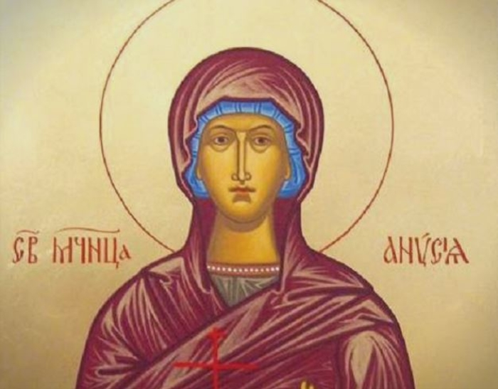 КАЛЕНДАР НА МПЦ: Денеска е Св. маченичка Анисија родена во Солун, со големо богатство, со кое им служеше на бедните