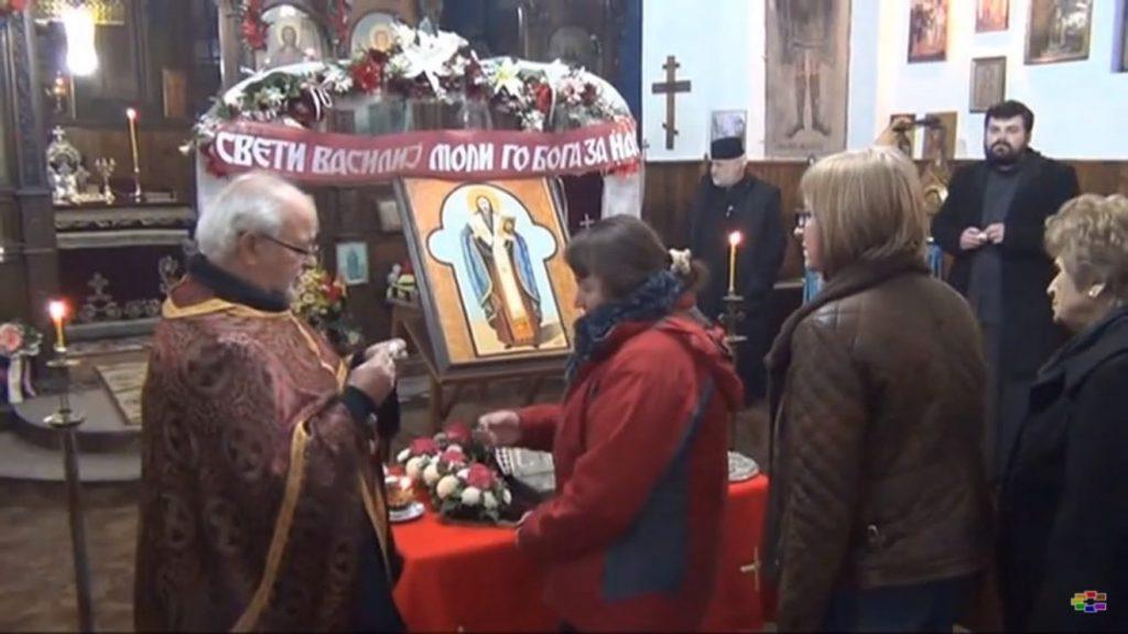МПЦ: Поклонение пред моштите на Св. Василиј в понеделник во Струмица