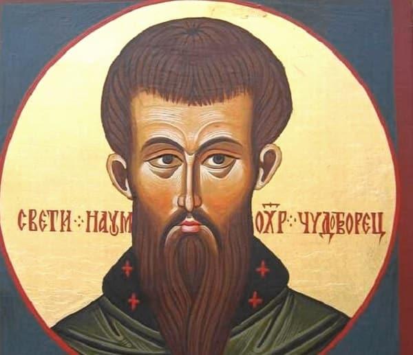 КАЛЕНДАР НА МПЦ: Денеска е Св. Наум Охридски