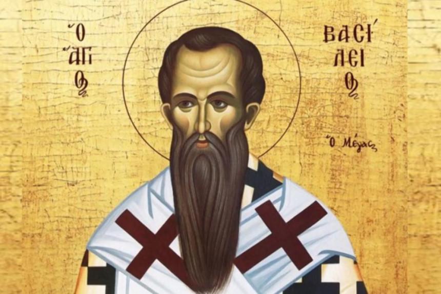 Св. Василиј Велики: И христијанското и нехристијанското население, во знак на благодарност го испратиле на вечното почивалиште