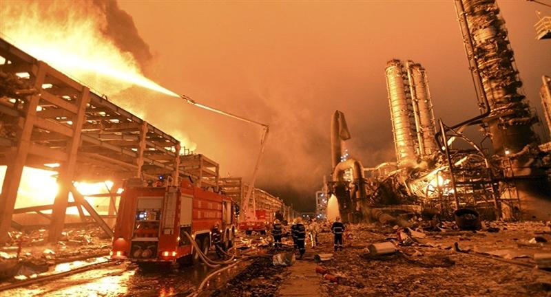 Голема експлозија во фабрика во Тарагона, Шпанија