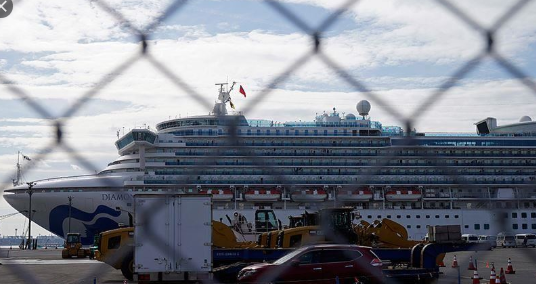 """Патниците од крузерот """"Дајмонд прицес"""" се подготвени да преминат во карантин во Јапонија"""
