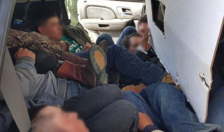 Откриени 43 мигранти во товарно возило крај Ваксинце, возачот приведен