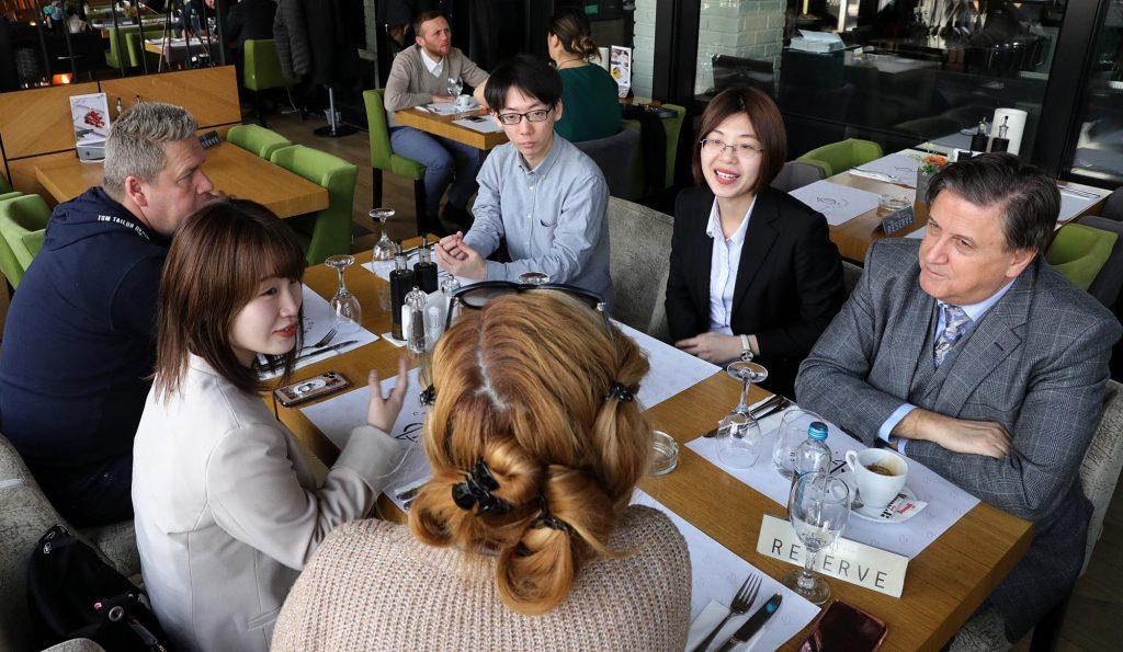 (фото) СТУДИСКА ПОСЕТА: Студенти од Јапонија првпат во Европа и ја избраа Македонија за екскурзија