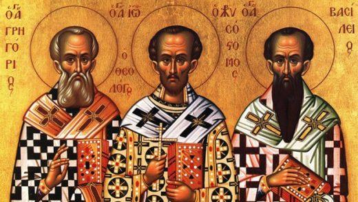 КАЛЕНДАР НА МПЦ: Денеска е Св. три Ерарси  – Василиј Велики, Григориј Богослов и Јован Златоуст