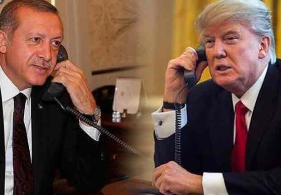 Ердоган и Трамп телефонски разговараа за ситуацијата во Либија и Сирија