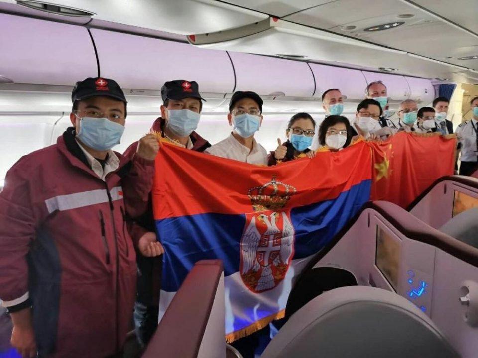 ЕУ ЗАБРАНУВА ИЗВОЗ, КИНА ПОМАГА: Авион со кинеска медицинска опрема, помош и медицински експерти полета од Кина кон Србија