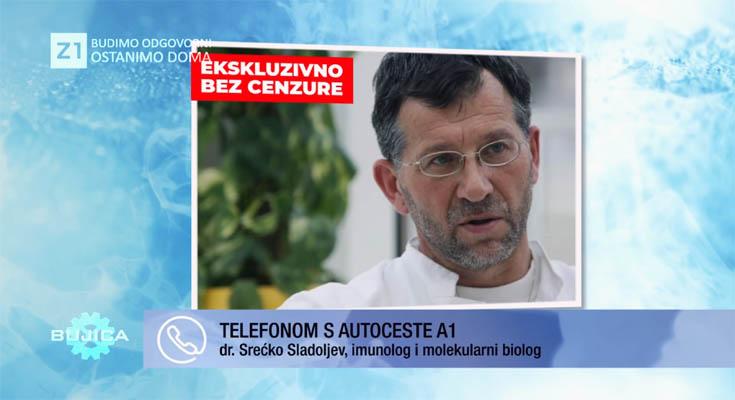 """(видео) ИМУНОЛОГОТ Д-Р СЛАДОЉЕВ ЗА КОРОНАВИРУСОТ И НОЦЕБО ЕФЕКТОТ: Ова е производство на масовен страв, пациент починал од """"тумор"""" кој воопшто го немал"""