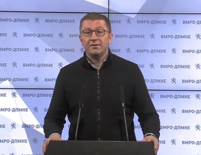 МИЦКОСКИ: Избори не може да има до 30 јули ако Владата е чесна во ветувањата што ги даде