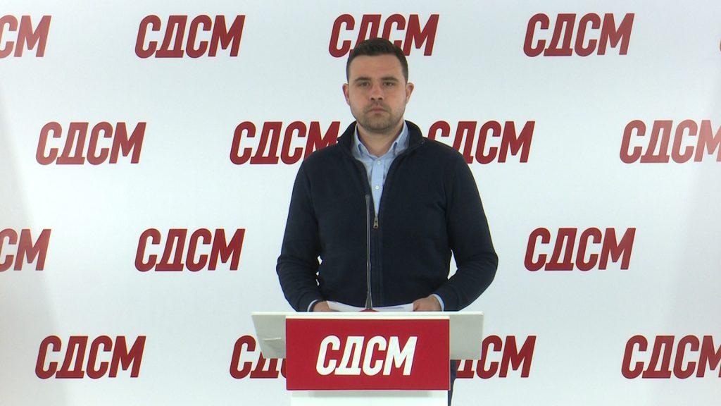 (видео) КОСТАДИНОВ: СДСМ од коронавирусот спаси 250.000 работни места и над 35.000 компании, а во ВМРО-ДПМНЕ се неодговорни