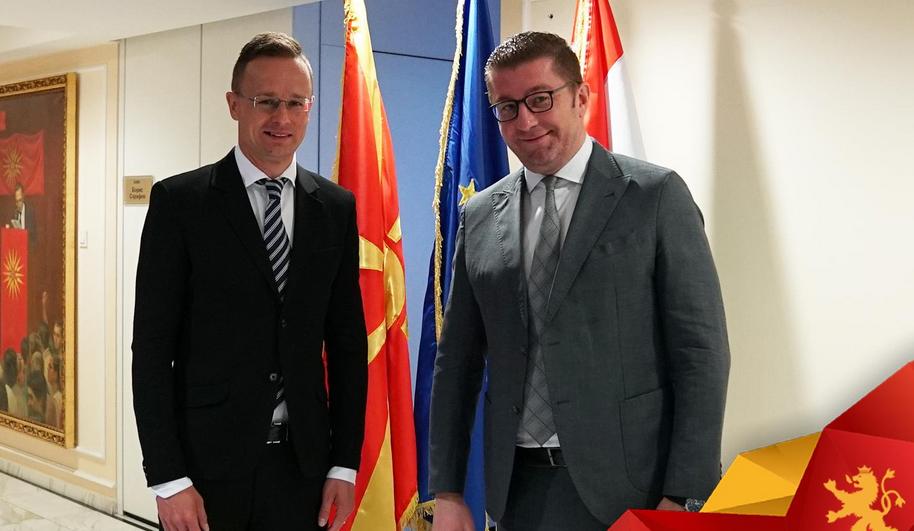 МИЦКОСКИ: Благодарност до премиерот Орбан и министерот Сијарто