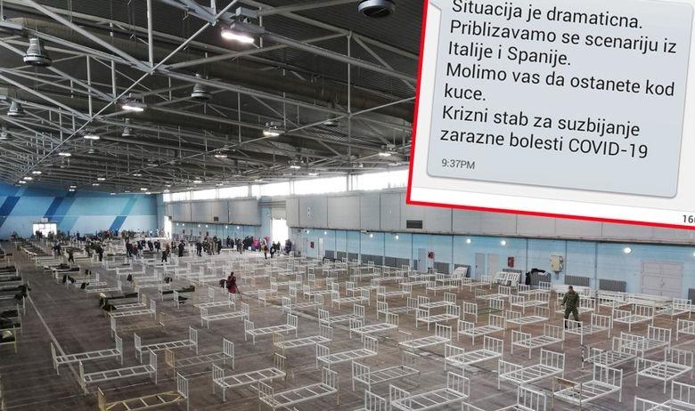 ДРАМАТИЧЕН ПОВИК ОД КРИЗНИОТ ШТАБ ВО СРБИЈА: Се приближуваме кон црното сценарио од Италија и Шпанија, ве молиме останете дома