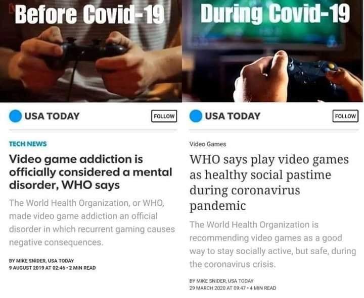 СЗО: Видео игрите лани ве правеа болен, сега се здрав начин да го поминете времето!