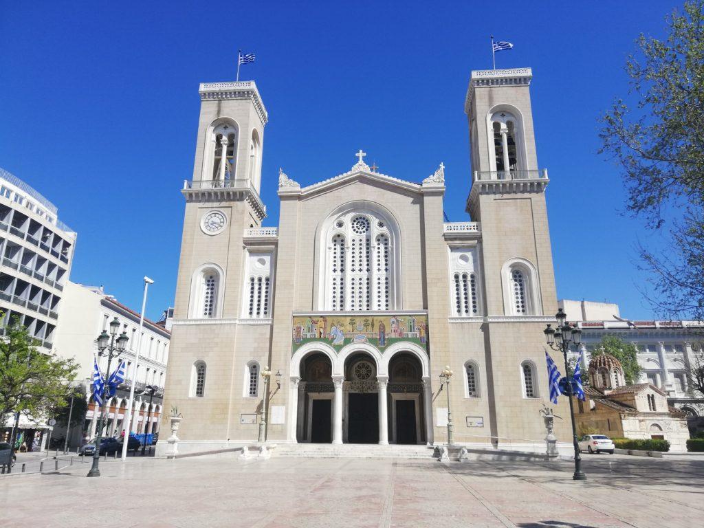 """Свечена велигденска литургија: Во грчките цркви вечерва """"Христос воскресе"""""""