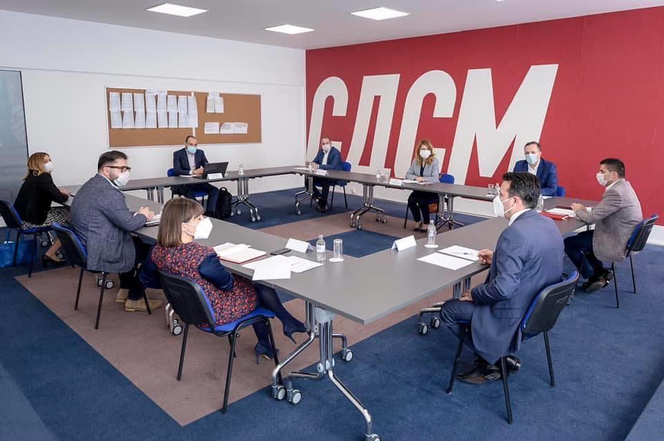 СДСМ ТЕМЕЛНО: Новата македонска економија ни е на прво место во агендата на новата влада за која темелно преговараме