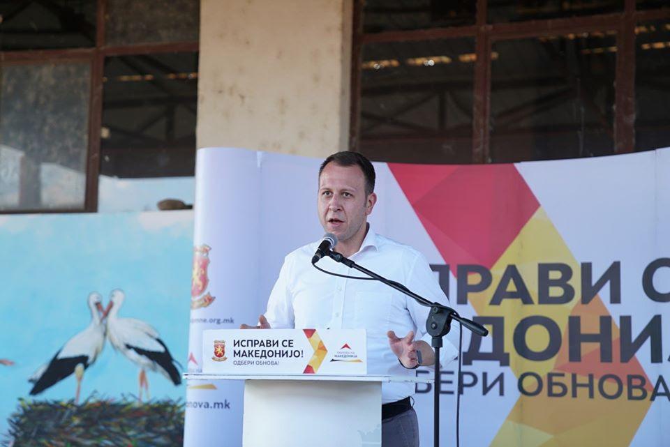 ЈАНУШЕВ: Предизборни лаги на СДСМ и Љупчо Николовски во 2016 година