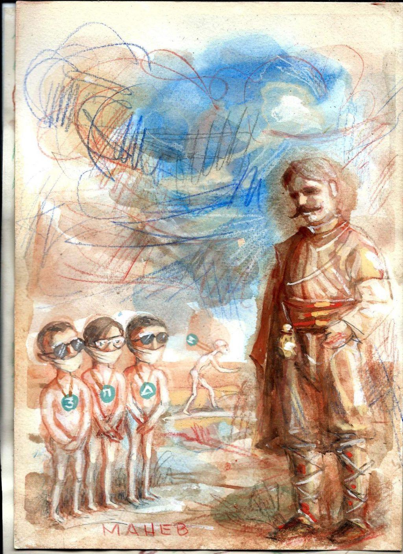 КОЛЕ МАНЕВ СО ПОРАКА ОД ГОЦЕ ДЕЛЧЕВ ЗА ТВОРЦИТЕ НА СЕВЕРНА И ЛИКОВЕН ПРИЛОГ: Зошто го лажете народот дека сум бил Бугарин?