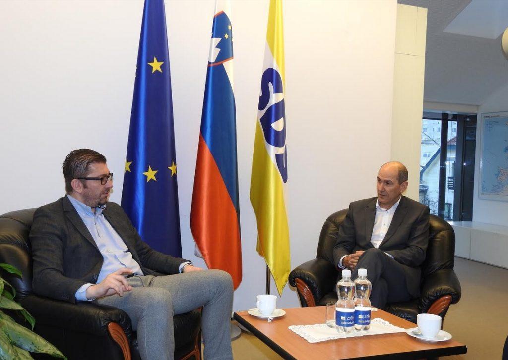 МИЦКОСКИ: Јанша вети итно да испрати експерти од Словенија за помош на Македонија во решавањето на коронакризата