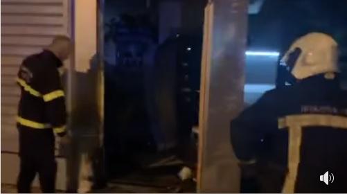 БОМБА ВО ЃОРЧЕ ПЕТРОВ: Ноќеска предизвикана експлозија во семејната продавница на Владо Мисајловски, потпретседателот на ВМРО-ДПМНЕ