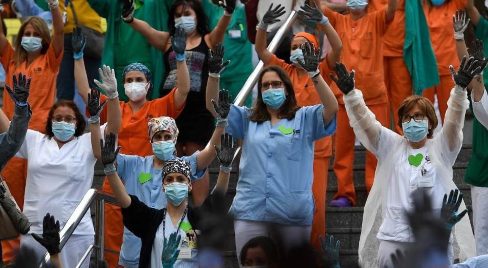 Шпанија: Протестираат здравствените работници во Мадрид
