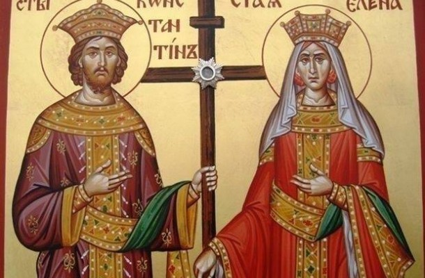 КАЛЕНДАР НА МПЦ: Денеска е Св. Константин и Елена