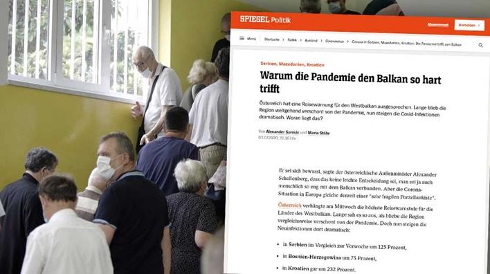 Шпигел: Зошто пандемијата толку силно го погоди Балканот?
