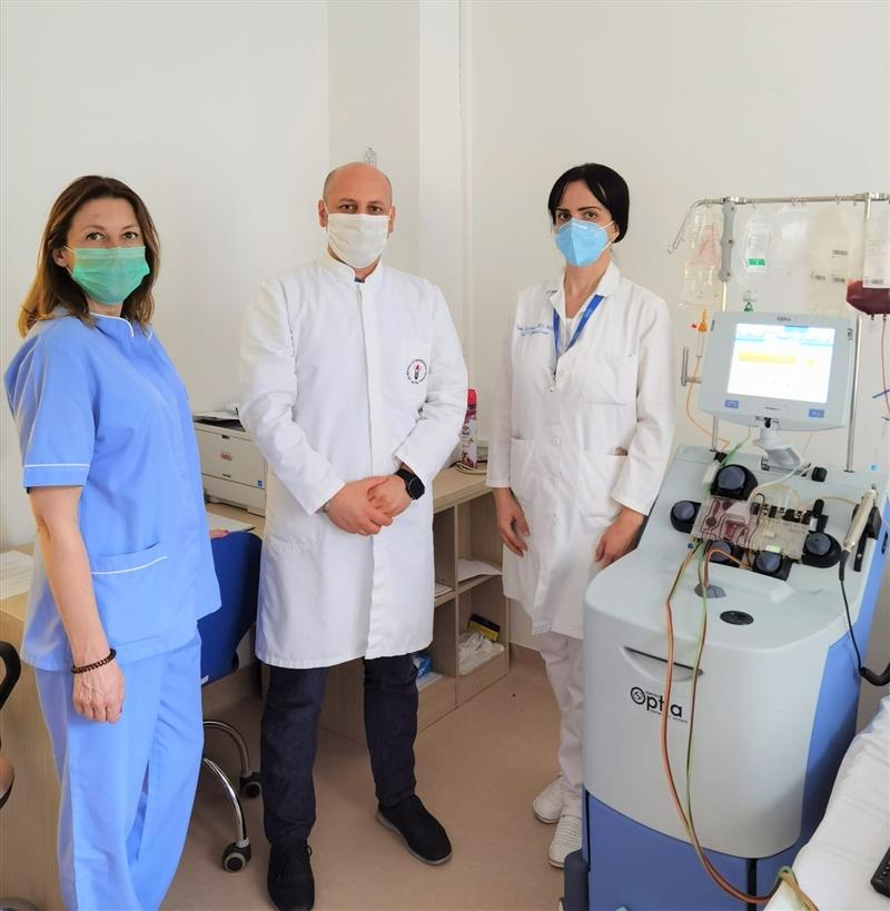 ИНСТИТУТ ЗА ТРАНСФУЗИОНА МЕДИЦИНА: Македонец доброволно даруваше матични клетки за непознат пациент од Бугарија