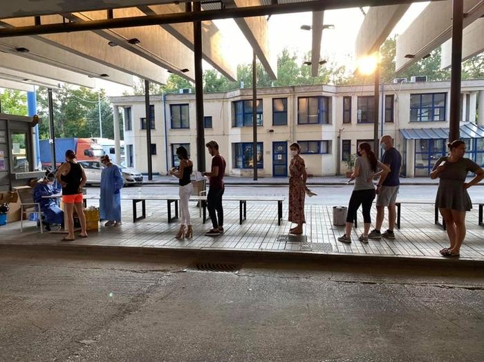 Во Грција 110 нови случаи на Ковид-19, првпат троцифрен број по подолго време