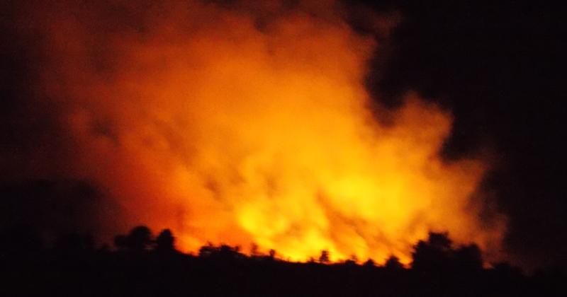 Активен пожар во околината на Прилеп
