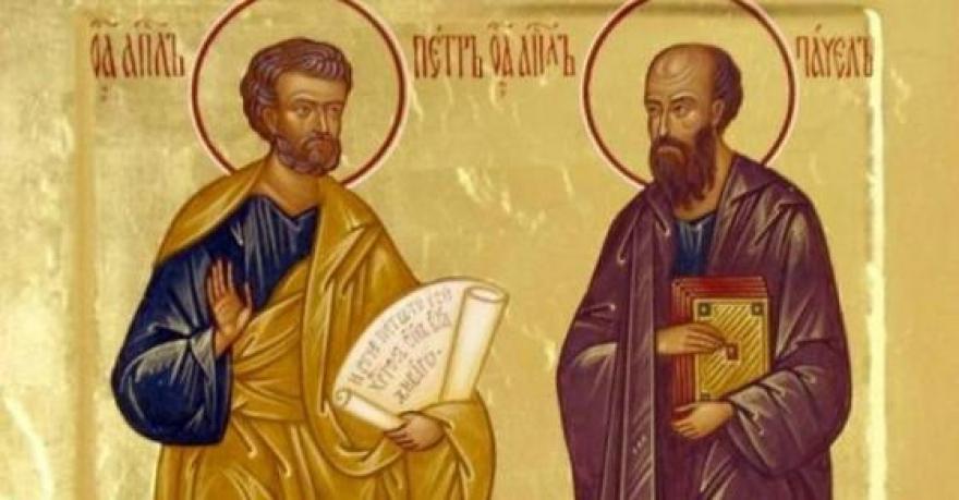 ДЕНЕСКА Е ПЕТРОВДЕН: Празник на врховните апостоли Свети Петар и Павле