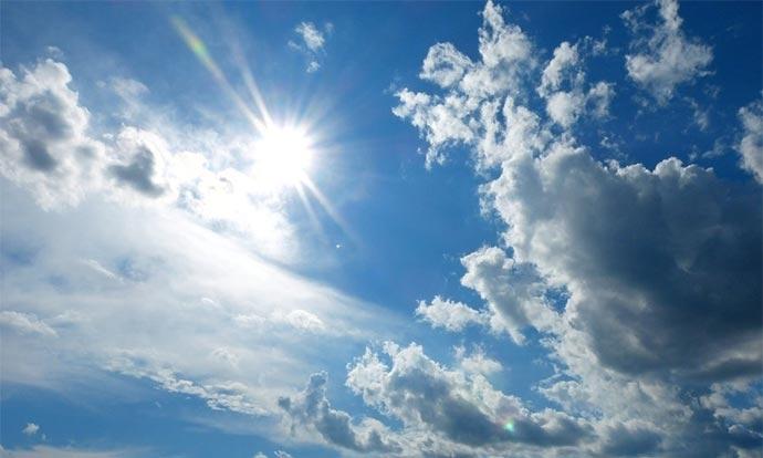 Време: Сончево претпладне, дожд попладне