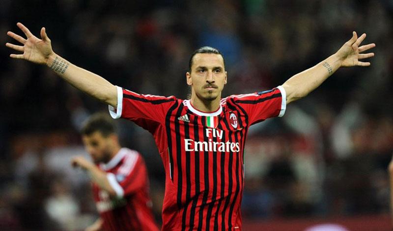 Серија А: Ибрахимовиќ даде повеќе голови за Милан отколку за Интер